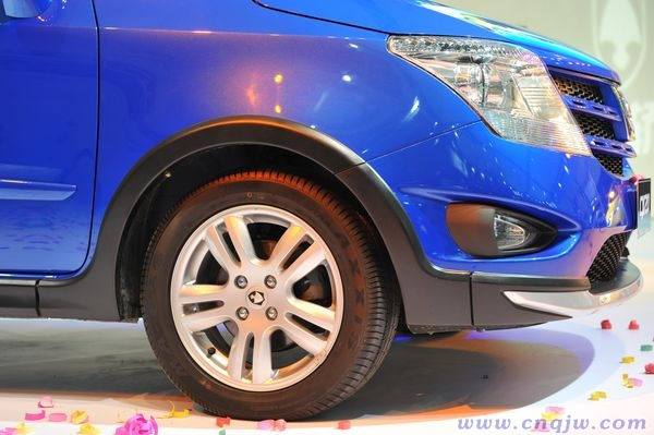 长安CX20成都车展发布 预售5.3 7.5万高清图片