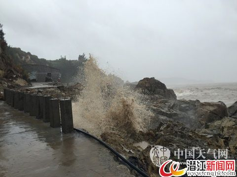 """台风""""苏迪罗""""登陆福建 9省市将现强风暴雨"""