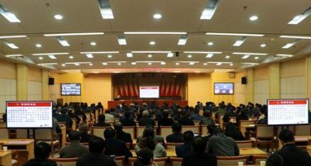 省委宣讲团来潜宣讲党的十九大精神