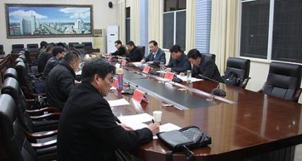 全市11月份工业项目集中开工活动督办工作会召开
