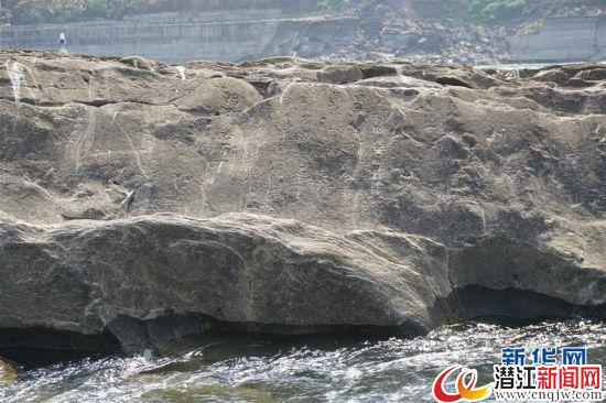 (图文互动)(2)四川宜宾南宋水下石刻题记显露真容