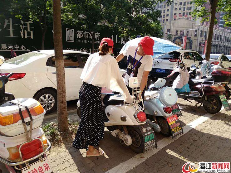 潜江重拳整治摩托车、电动车、自行车随停乱象